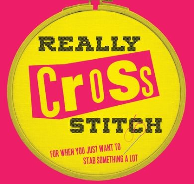 Really Cross Stitch Book cover